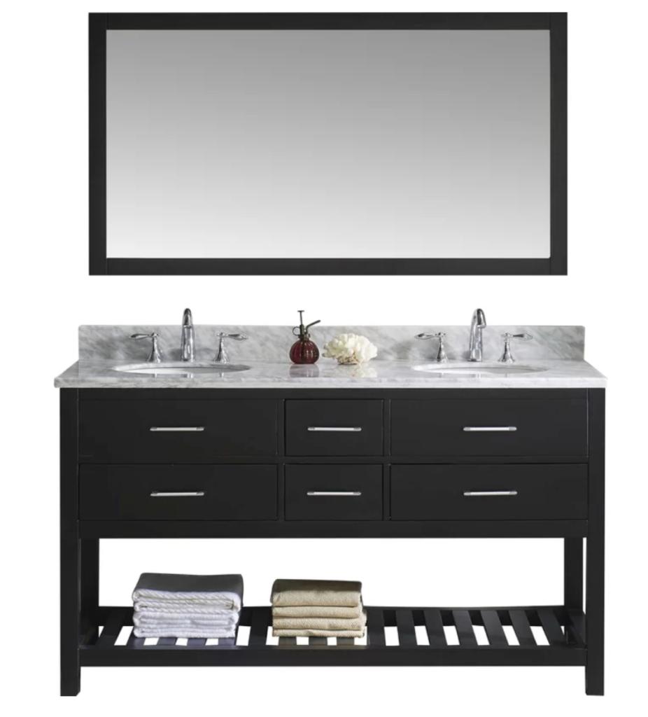 master bathroom custom vanity ideas and inspiration