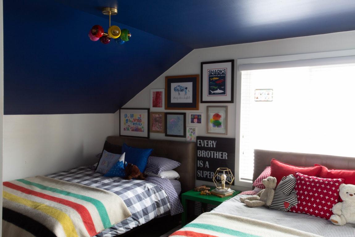 SHARED BOYS BEDROOM FINAL REVEAL - CLARK + ALDINE on sumeer homes, samantha homes, bella homes, minnie homes, katie homes, victoria homes, rocky homes,