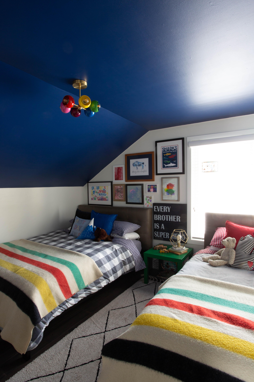 SHARED BOYS BEDROOM FINAL REVEAL - CLARK + ALDINE