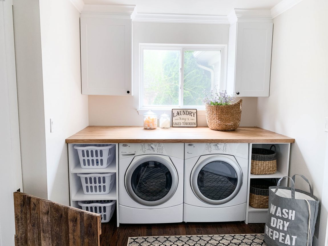 - CREATING A PINTEREST PERFECT LAUNDRY ROOM - CLARK + ALDINE