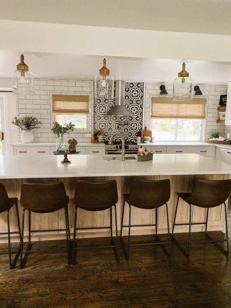 Image of: Modern Farmhouse Kitchen Reveal Crestwood Mckinley Clark Aldine