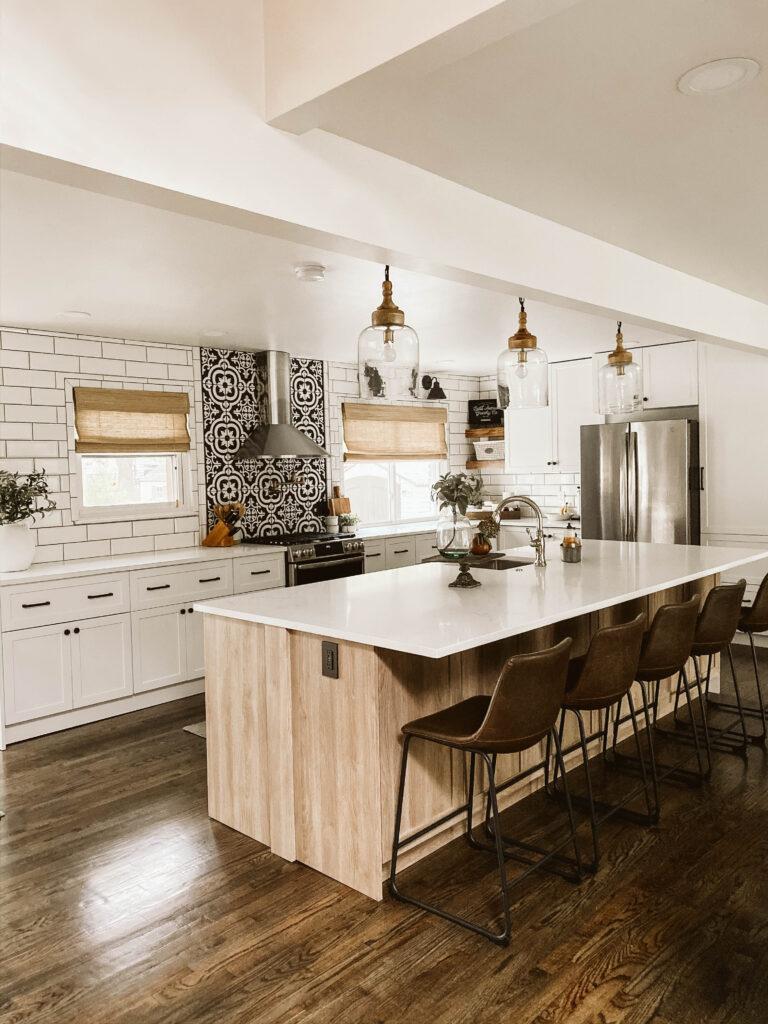 Modern Farmhouse Kitchen Reveal Crestwood Mckinley Clark Aldine