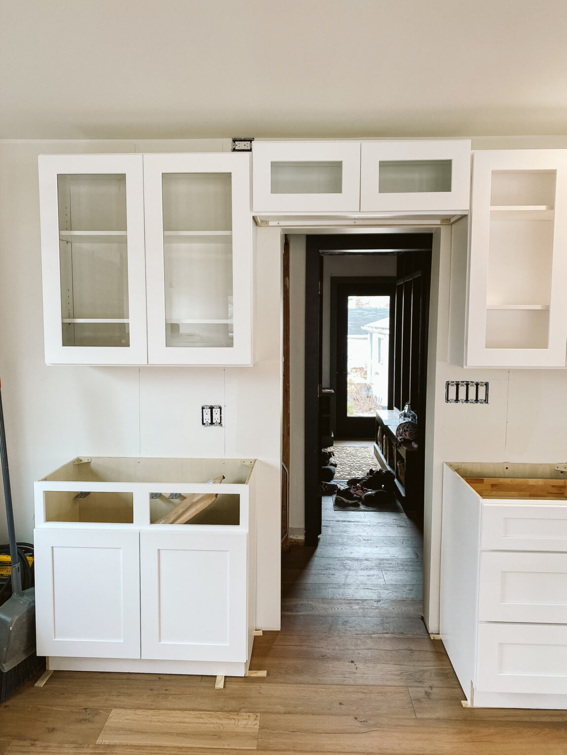How To Properly Install And Connect Kitchen Cabinets Clark Aldine